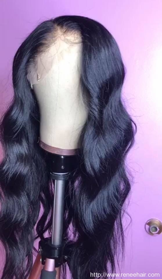 Body Wave  Human Hair Wigs For Black Women Pre Plucked Brazilian Remy Hair Wigs Bleached Knots Baby Hair