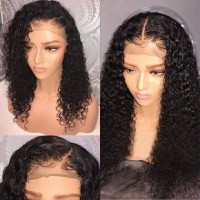 Full Lace Human Hair Wigs For Black Women Brazilian Virgin Hair Body Wave Lace Front Wigs With Baby Hair Glueless Full Lace Wig