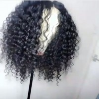 Glueless Full Lace Human Hair Wigs For Black Women Loose Curly Wave Lace Front Human Hair Wigs Brazilian Virgin Hair Lace Wig