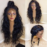 Brazilian Human Hair Glueless Full Lace Human Hair Wigs With Baby Hair Part Anywhere Best Human Hair Wigs For Black Women