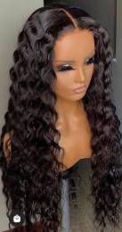 Loose Deep Wave Human Hair Lace Front Wigs 10A