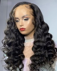 Loose Wave Lace Front Wigs Human Hair