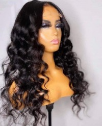 Human Hair Wigs For Black Women Brazilian Virgin Human Lace Front Wig 130 Density Full Lace Human Hair Wigs