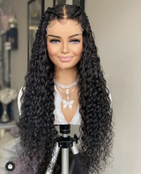 Brazilian Human Hair Lace Front Wig With Baby Hair Virgin Hair Glueless Wigs Full Lace Human Hair Wigs For Black Women