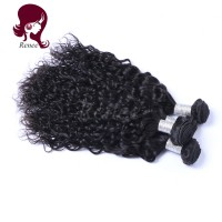 Barzilian virgin hair natural wave 4 bundles natural black color free shipping
