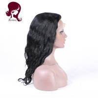 full lace human hair wigs brazilian virgin hair wavy style