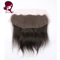 Barzilian virgin hair lace frontal closure silky straight natural black color free shipping
