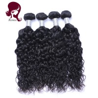 Malaysian virgin hair natural wave 4 bundles natural black color free shipping