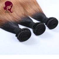 1B/30 color ombre brazilian virgin hair straight 3 bundles