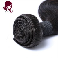 Peruvian virgin hair body wave 3 bundles natural black color free shipping