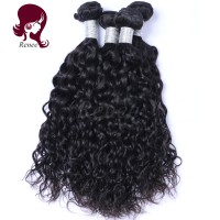 Peruvian virgin hair natural wave 4 bundles natural black color free shipping